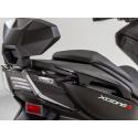 Dosseret passager aluminium noir XCITING S 400 KYMCO