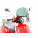 Petit pare brise New Like Kymco (support chromé)